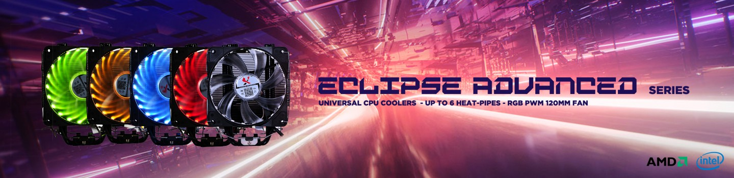Spire Corp. | ECLIPSE ADVANCED CPU coolers