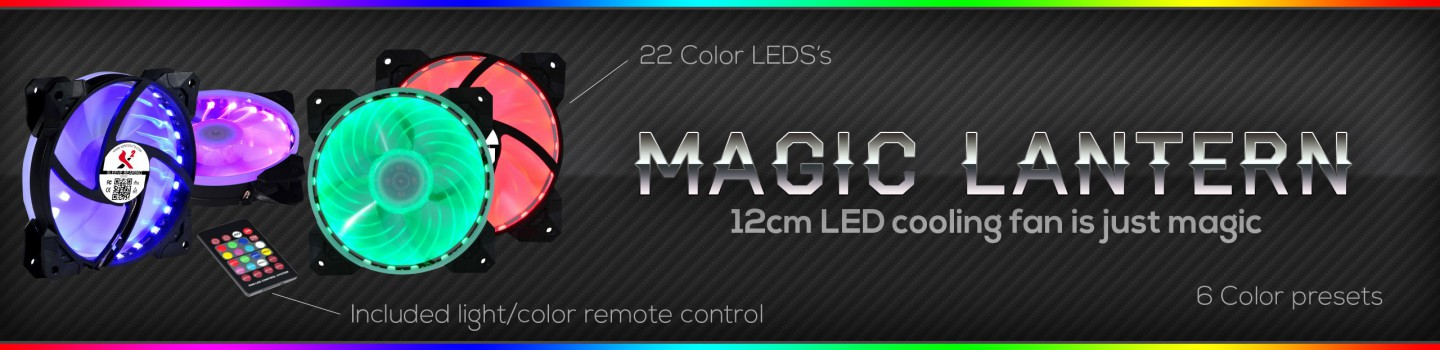 Spire Corp. | Magic Lantern cooling fans