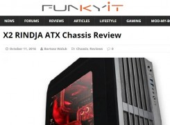 X2 RINDJA ATX chassis review by Funkykit