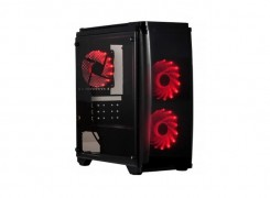 Spire Corp | New arrival: the PIRATE 1416 micro ATX chassis with tempered glass