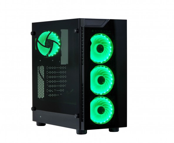 Introduction of the BLAZE series ATX chassis with smoked tempered glass